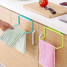 hanging ls for kitchen door tea towel rack bar hanging holder rail organizer bathroom