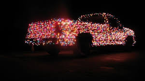 Christmas Lights For Cars The Christmas Truck With 3000 Lights Damn Cool Pictures
