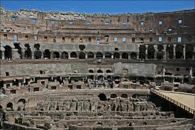 the interior of the colosseum in rome italy steve u0027s genealogy blog