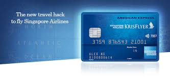 krisflyer credit card american express sg