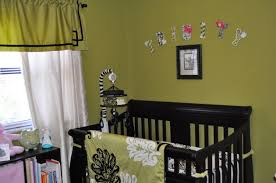 green black and white nursery design featured affordable wooden
