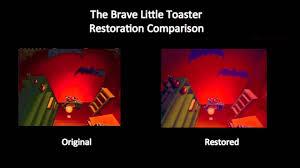 Toaster Movie The Brave Little Toaster It U0027s A B Movie Restoration Comparison