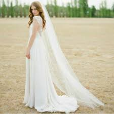 aliexpress com buy top sale bridal veil 2m long white ivory