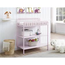Changing Table Shelves by Little Seeds Monarch Hill Ivy Metal Changing Table Gray Walmart Com
