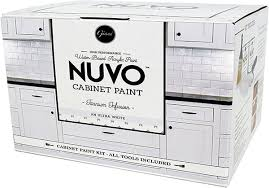 can you spray nuvo cabinet paint nuvo cabinet paint vs rustoleum transformations kit reviews