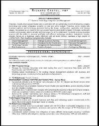 project manager sample resumes project manager resume sample unforgettable technical project