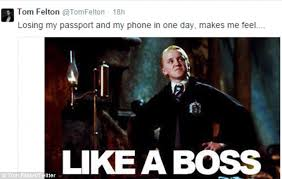 Draco Memes - tom felton jokes kim kardashian with draco malfoy likeness stole his
