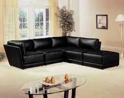 armless chair and ottoman set zachary collection 500891 black modular sectional sofa modular