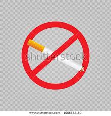 no smoking sign transparent background no smoking sign sticker on transparent stock vector 1055852150