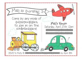 mia u0027s 3rd birthday party transportation theme