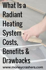 Heated Floor Under Laminate Best 25 In Floor Heating Ideas On Pinterest Heated Bathroom