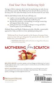 mothering from scratch finding the best parenting style for you