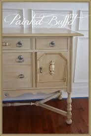 Painting Furniture White by Painting A Buffet Stonegable