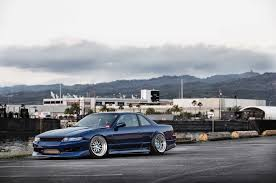 nissan 240sx s13 jdm turbocharged nissan 240sx with odyvia front end from hawaii