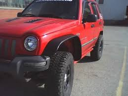 jeep liberty fender flare check out the flat bushwacker fenders for the jk s