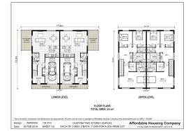Basic Duplex Floor Plans 28 Duplex Plans Gallery For Gt Duplex Floor Plans With Garage