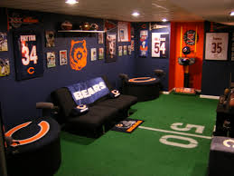 interior design sports themed basement ideas sports themed
