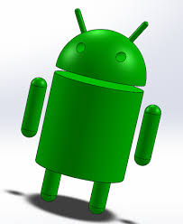 android model android logo solidworks 3d cad model grabcad