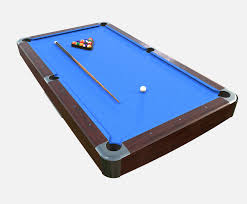 Low Poly Pbr American Pool Table 3d Asset Cgtrader