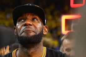 Lebron Crying Meme - finals mvp lebron james leads the comeback and brings title to