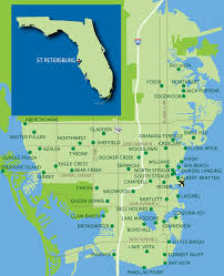 st map park locations map st petersburg florida