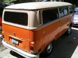 orange volkswagen van thesamba com bay window bus view topic value of my 1979 vw