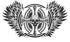 skull cross by macksztaba on deviantart