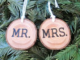 newlywed newly engaged ornaments the overwhelmed
