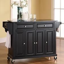 black kitchen island black kitchen islands carts you ll wayfair