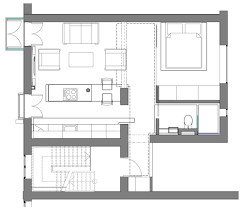 house plans with dimensions impressive modern apartment floor plan with dimensions 13 one room