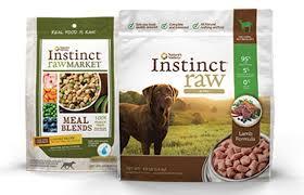 instinct dog food from nature u0027s variety petsmart