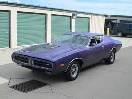 dodge charger 6000 1972 dodge charger plum purple stock 72cliadz for sale