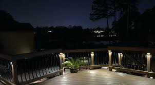 deck led lighting deck post brass metal landscape light deck led
