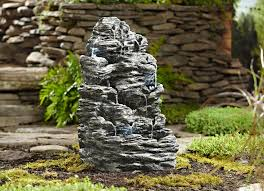 essential garden rock fountain limited availability