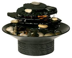 Tabletop Rock Garden Homedics Wfl Rock Envirascape Illuminated Rock Garden Relaxation