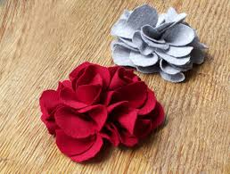 Fabric Flowers How To Make Fabric Flowers How To Make Fabric Flowers I Can