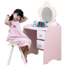 Childrens Play Vanity Impressive Kid Vanity Table And Chair With Childs Desk Uk Childs