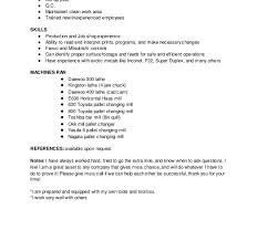 machinist resume example resume example and free resume maker