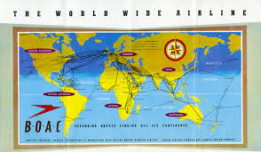Ryanair Route Map by Map Two Route Maps U0026 Posters From The Early Days Of Air Travel