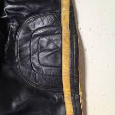 motocross leather jacket iconic leather motocross pants rumble speed shop
