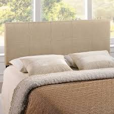 amazon com modway oliver queen headboard beige