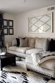 comfy living room black and white apartment home inspiring