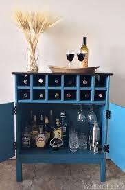 Ikea Kitchen Cart Makeover - ikea tarva hack 3 drawer chest to bar cabinet dresser bar and