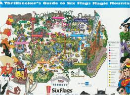 Six Flags In Kentucky Park Maps