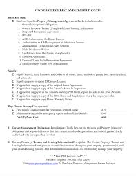 Rental Home Inspection Checklist by Owner Checklist And Startup Costs Pdf Property Management Forms