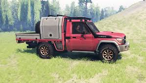 land cruiser 70 pickup land cruiser 70 j79 v1 1 for spin tires