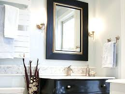 White Framed Mirror For Bathroom Bathroom Framed Mirrors For Bathroom Luxury Large Black Framed