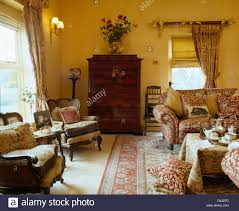 bergere home interiors comfortable bergere chairs and sofas in yellow cottage living room