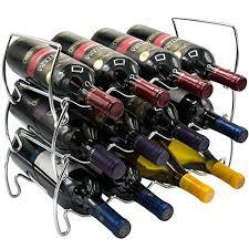 sorbus 3 tier stackable wine rack u2013 classic style wine racks for