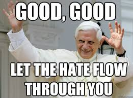 Spirit Fingers Meme - catholic pope spirit fingers memes quickmeme